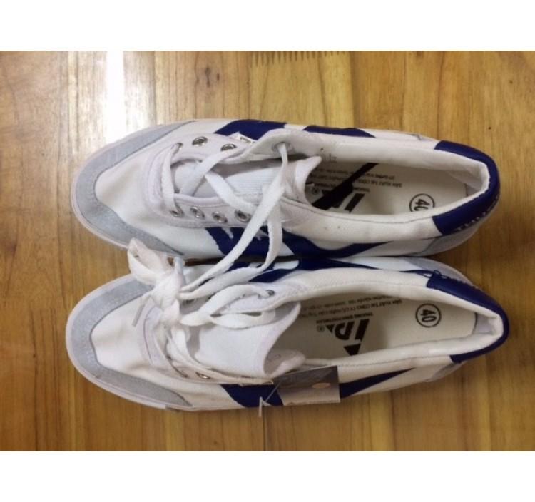 Giày thượng đình xanh trắng