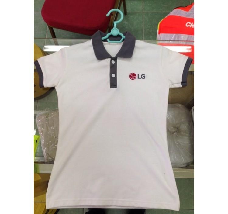 Áo thun đồng phục Tập đoàn LG Hải Phòng